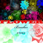 Flower Brush Set for Photoshop