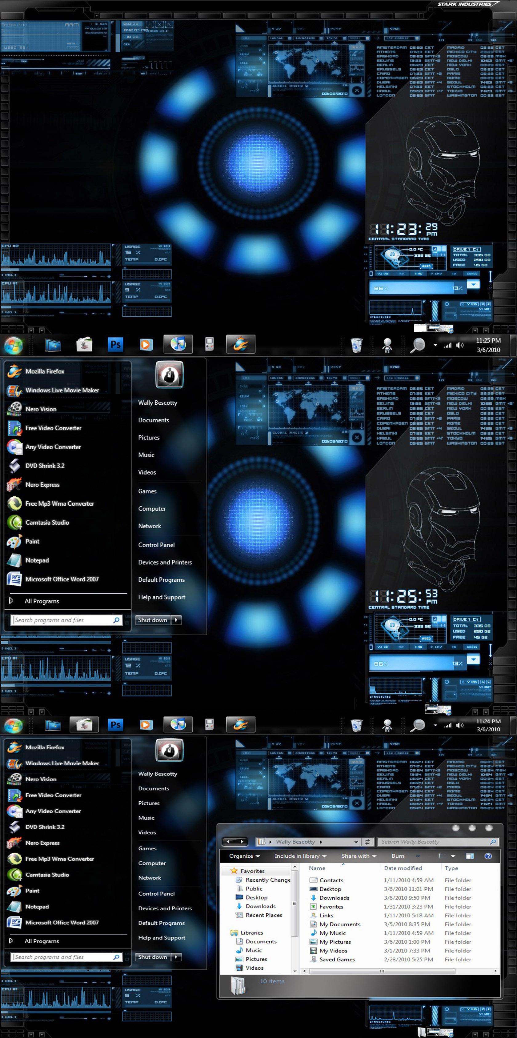 Iron man 2 windows 7 theme latest version 2019 free download.