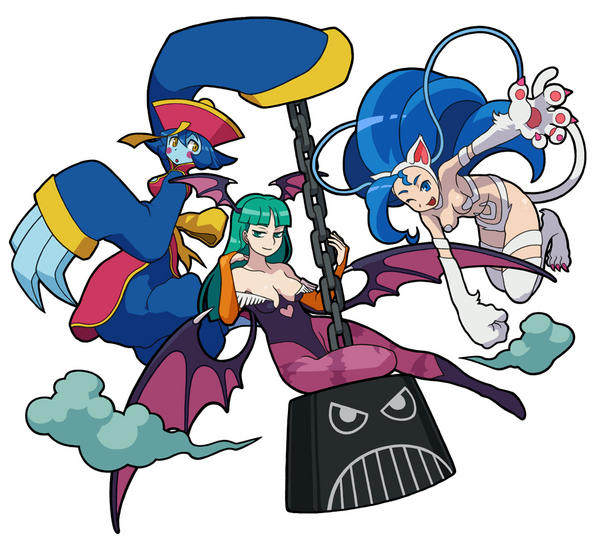 Darkstalkers 4 Roster by Hotfeet444
