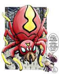 Spider-Spider Controversy by Stone-Pi-Comics