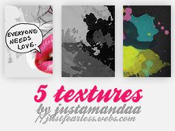 Textures Pack by JustAmandaa