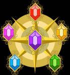 Elements of  harmony vectorized