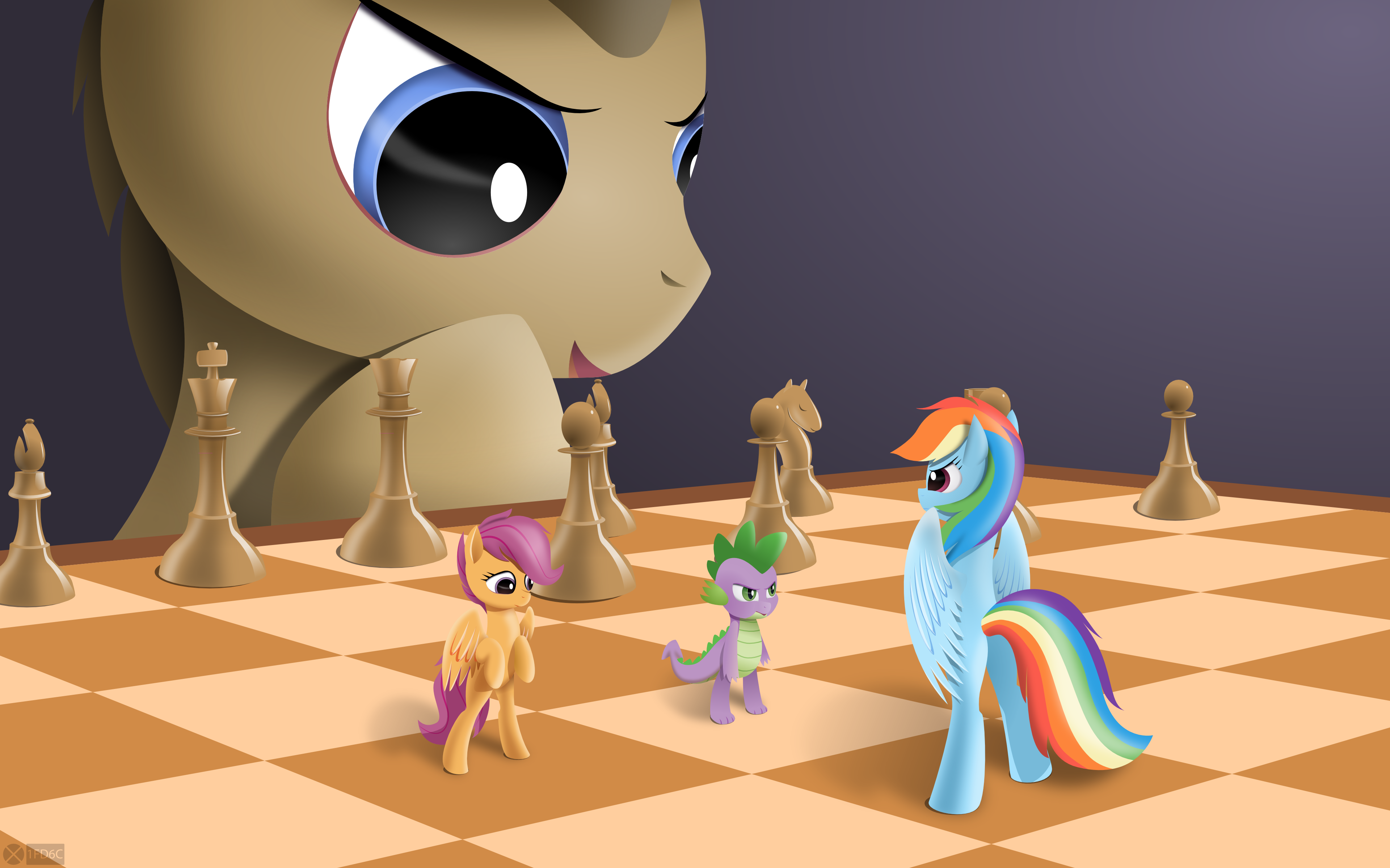 Scootaloos gambit - cover by iOVERD