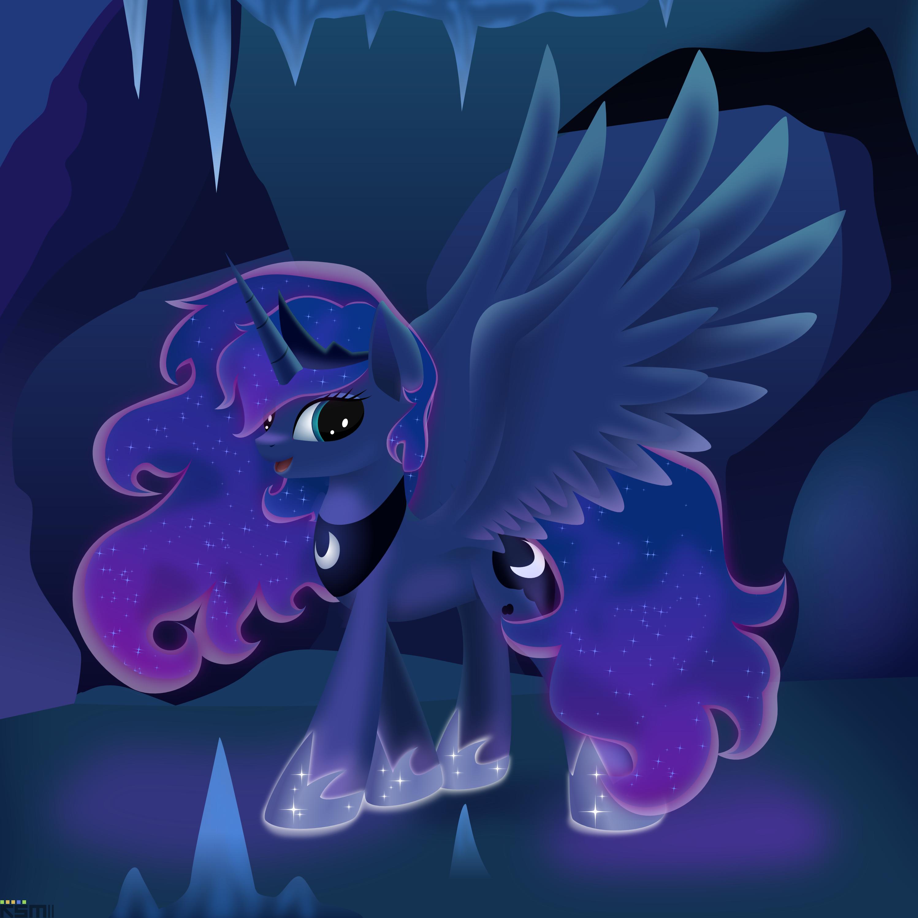 Luna`s secret place by iOVERD