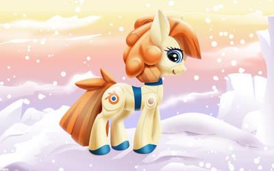 Blender pony OC + video by roadsleadme