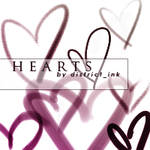 district_ink heart brushes