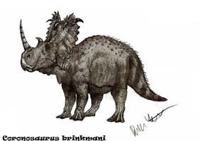 Coronosaurus brinkmani by Teratophoneus