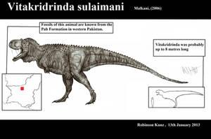 Vitakridrinda sulaimani by Teratophoneus