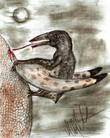 All yesterdays: Vampire pterosaur by Teratophoneus