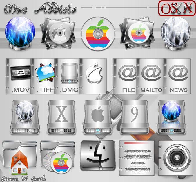 Xi Mac Addicts OS X by Steve-Smith