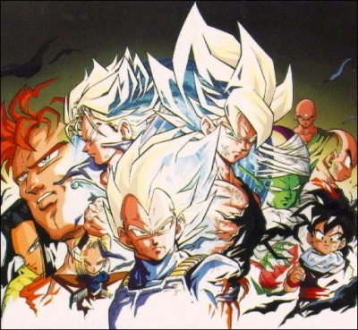 Pack de Renders de Dragon Ball by SaMuRaiRed