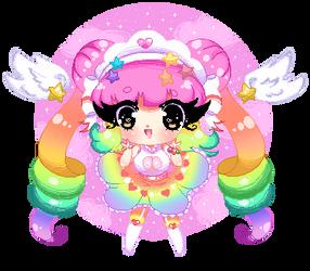 C| Rainbows and sparkles