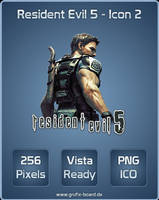 Resident Evil 5 - Icon 2 by RottenRooster