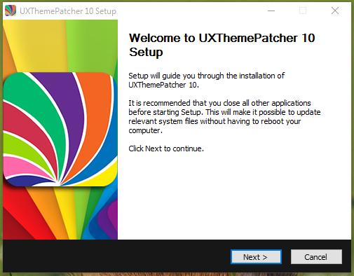 UXTheme Patcher For Windows 10