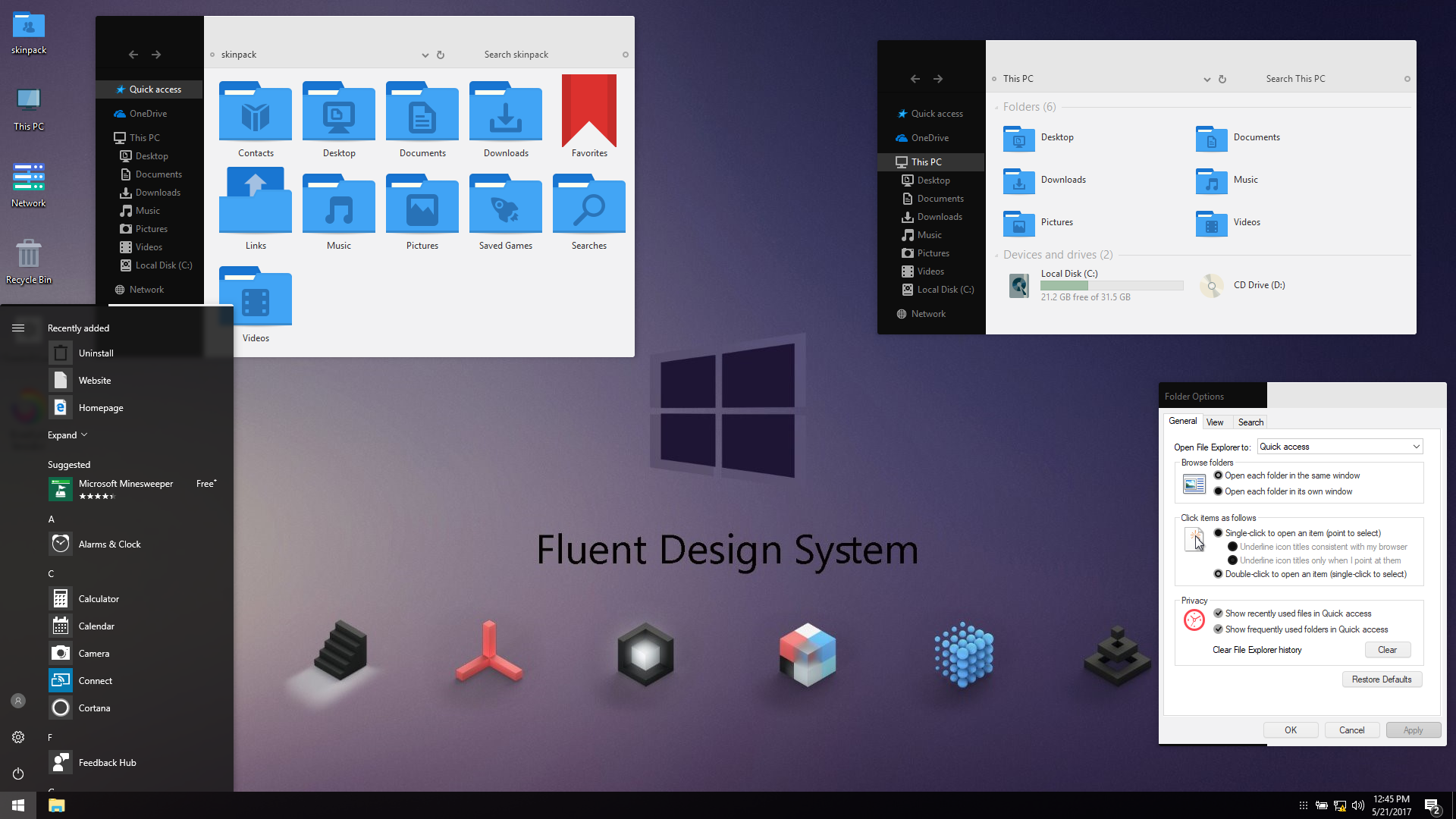 Fluent Design VS