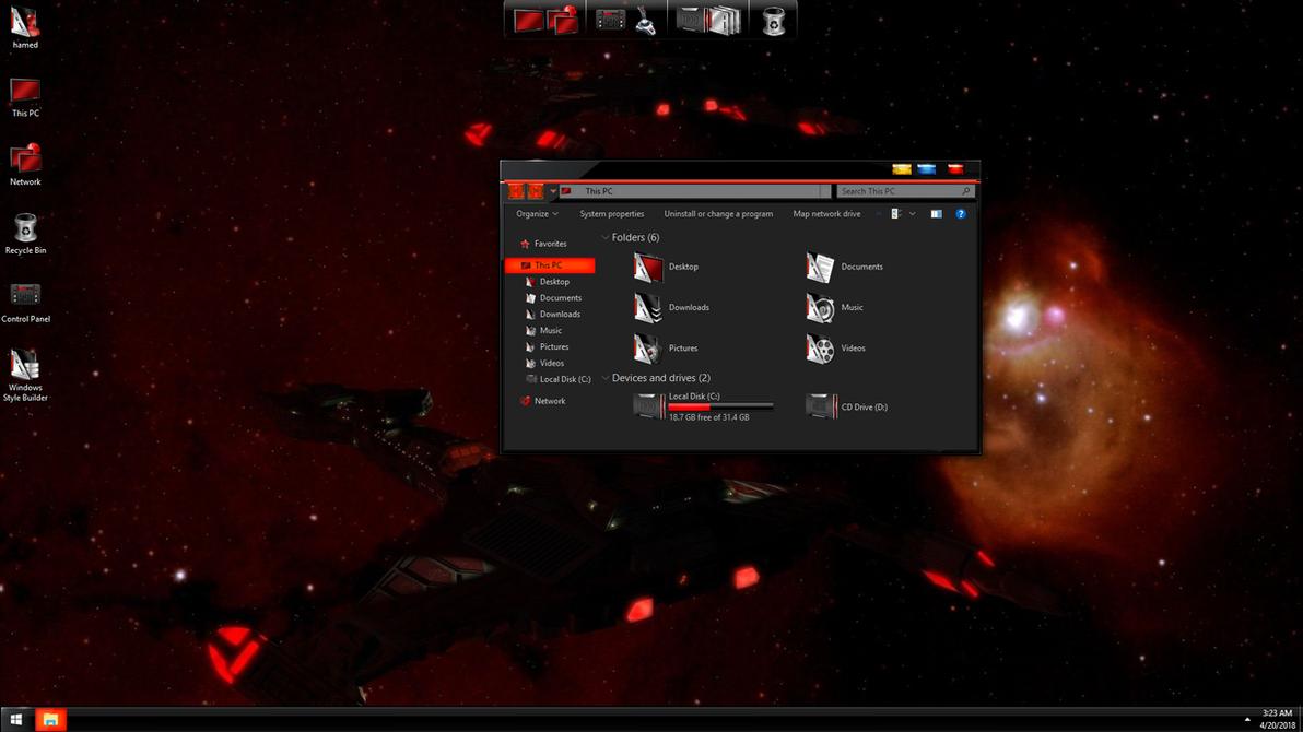 StarTrek Black Red by hs1987