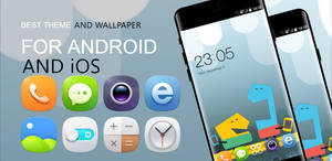 HD Theme and Wallpaper App for Android and iOS