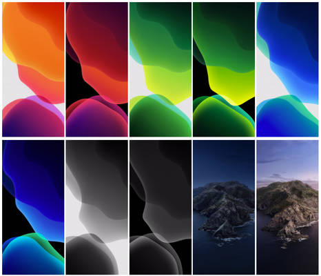 iOS 13 and macOS Catalina Wallpaper Collection