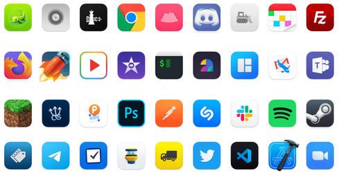macOS Big Sur Apps Icons
