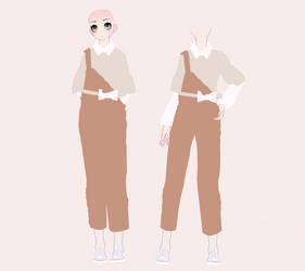 Stream Punk Outfit 1# DL by BlueTea-Senpai