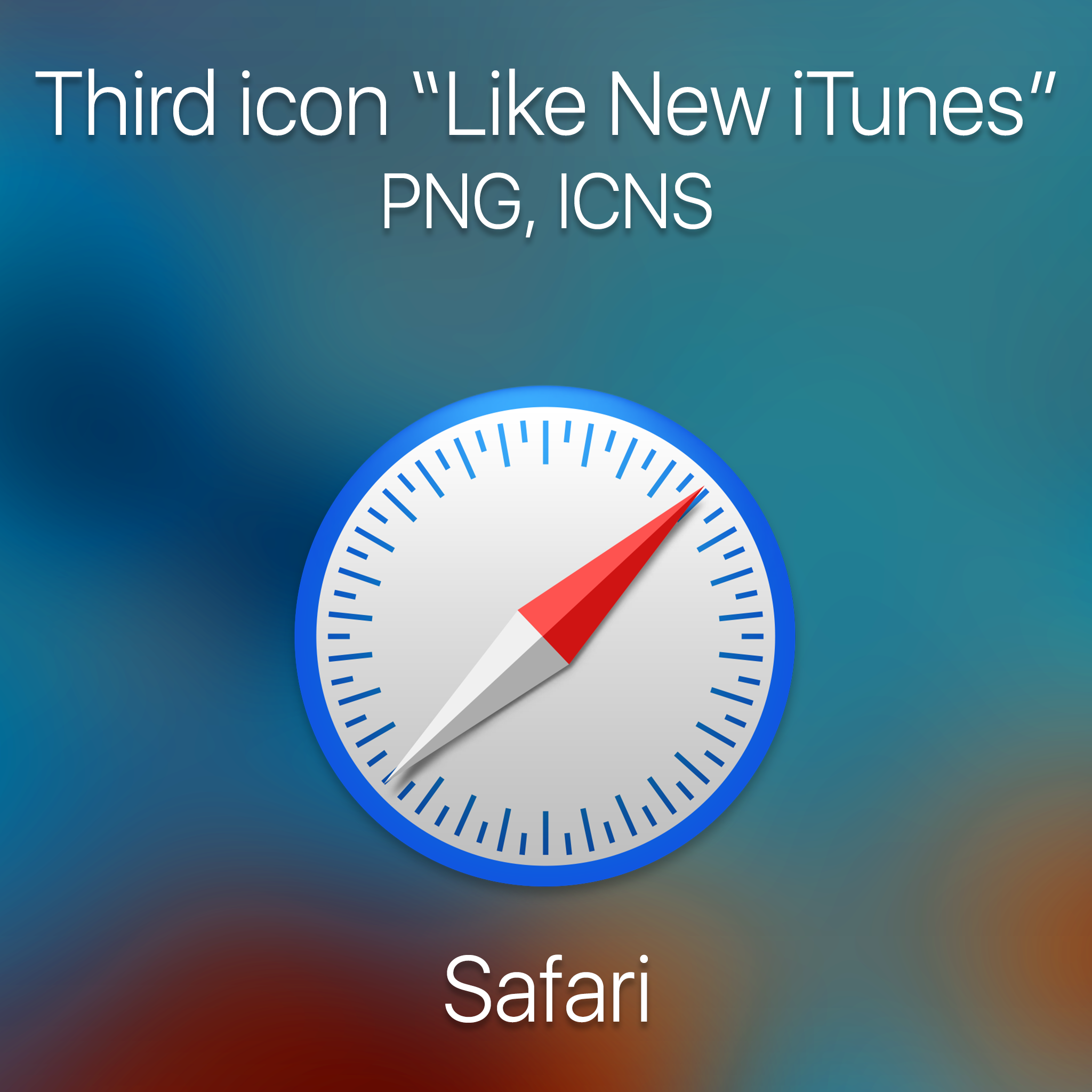 how to change icon of itunes
