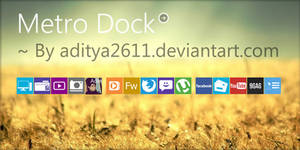 Metro | Dock for Rainmeter