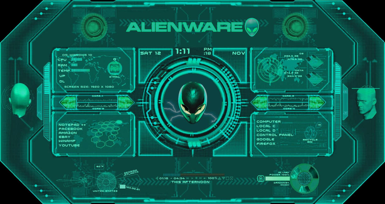 Alien Aqua-Its Alive 1.2 by shepstooge