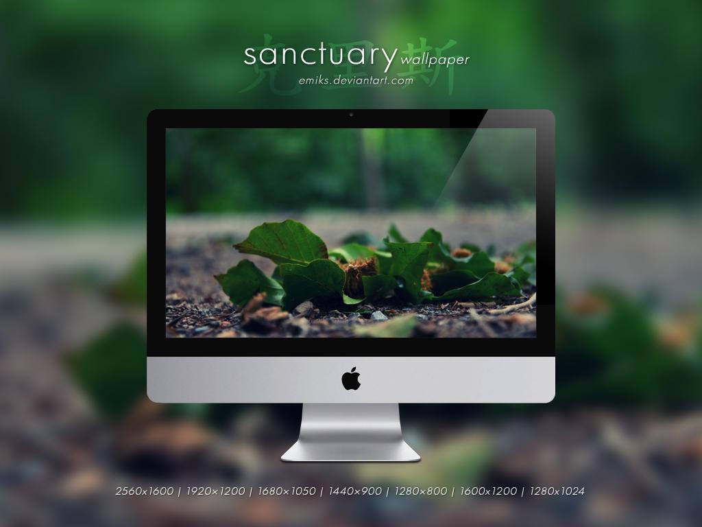 sanctuary wallpaper by emiKs