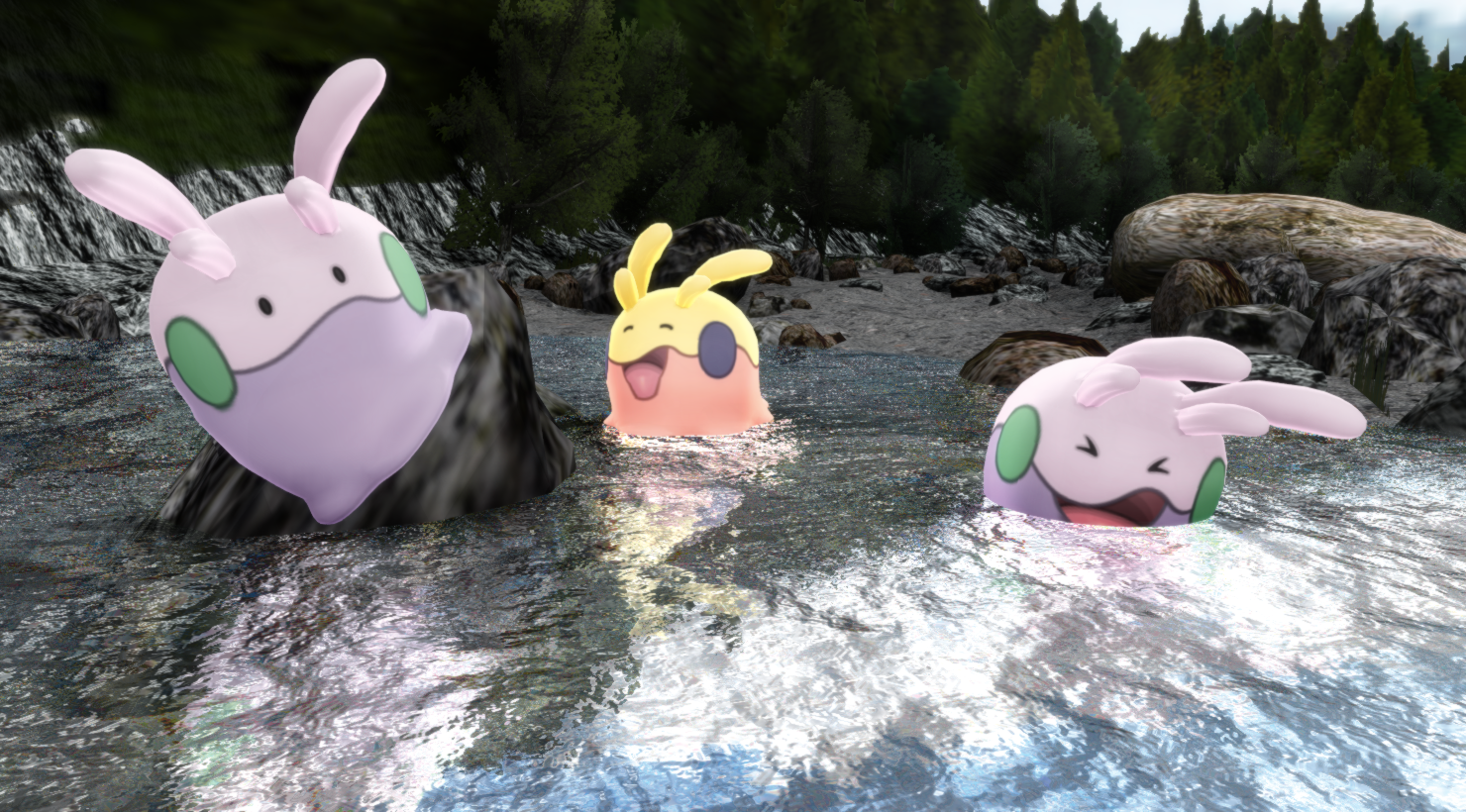 PokeMMD - #704 Goomy