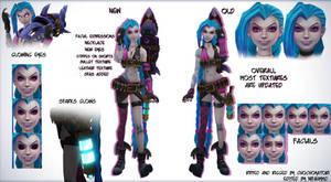 Jinx - League of Legends MMD