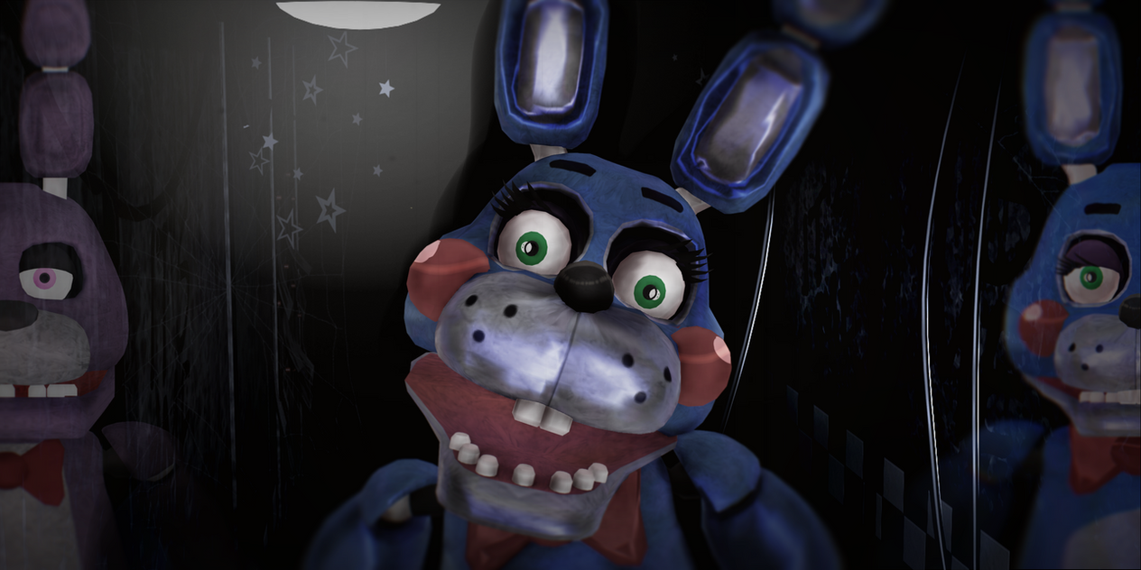 Bonnie At Freddys Five Nights