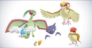 Pokemon X and Y: Random pack II (Need Rig help!!) by NipahMMD