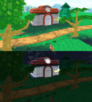 Pokemon Center/route 101 ORAS - MMD Stage
