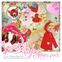 Lovely Vintage images Pack