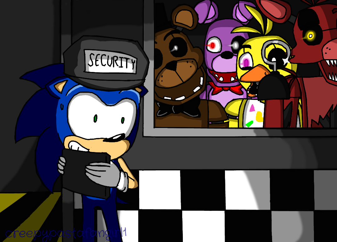 Sonic And Fnaf Remake 2015 By Creepypastafangirl1 On