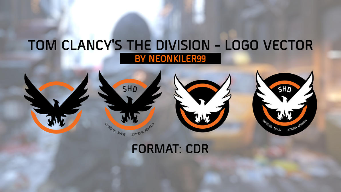 Tom Clancy's The Division - Logos Vector By NEONKI by neonkiler99
