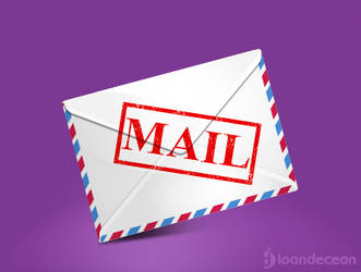 mail icon - free psd by nelutuinfo