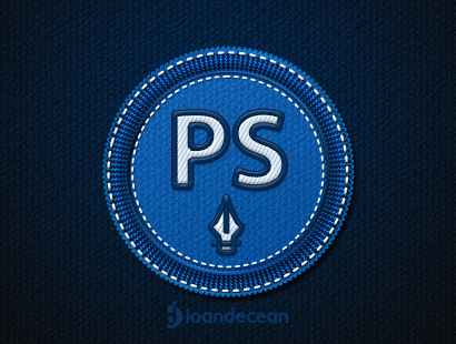 Badge PSD Free Mock Up Design Interface