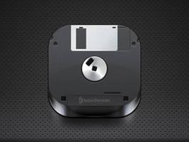 floppy disk icon - free psd by nelutuinfo