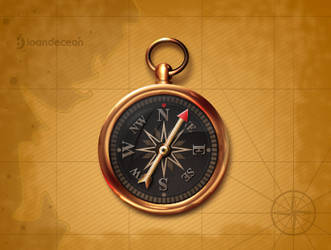 compass icon - free psd by nelutuinfo