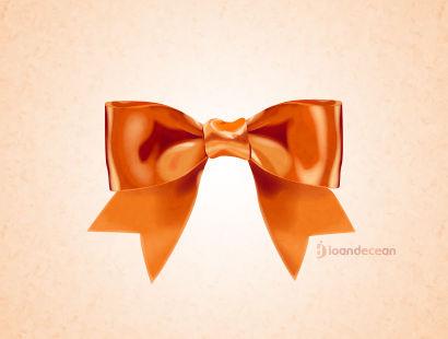 ribbon icon - free psd