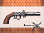old pistol icon free psd