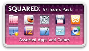 Squared Icons Pack