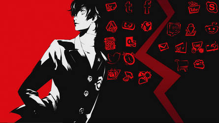 Persona 5 Color Changing Icons
