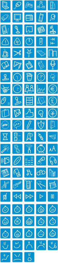 Free website icons set - PNGs
