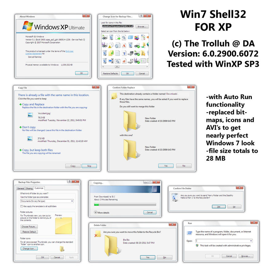 Shell32 XP Release by TheTrolluh