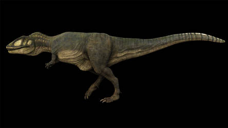 Carcharodontosaurus Walk Cycle by Johnson-Mortimer