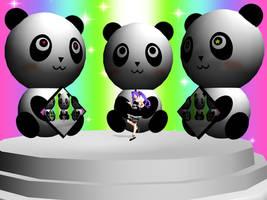 MMD Panda Stage by ReyUzuki