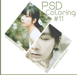 PSD COLORING #11 by pxxxxo