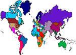 TUAoLC 60yl - World Map